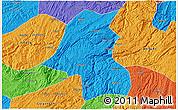 Political 3D Map of Kaiyang