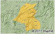 Savanna Style 3D Map of Kaiyang