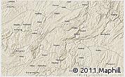 Shaded Relief 3D Map of Kaiyang
