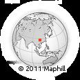 Outline Map of Kaiyang