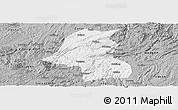 Gray Panoramic Map of Kaiyang