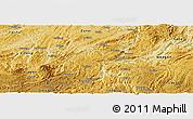 Physical Panoramic Map of Kaiyang