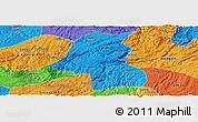 Political Panoramic Map of Kaiyang