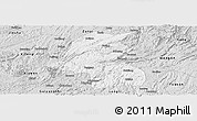 Silver Style Panoramic Map of Kaiyang