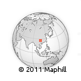 Outline Map of Longli