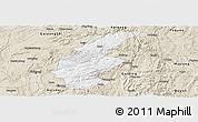 Classic Style Panoramic Map of Longli