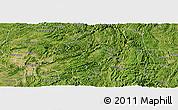 Satellite Panoramic Map of Longli