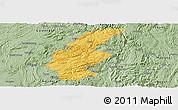 Savanna Style Panoramic Map of Longli