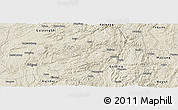 Shaded Relief Panoramic Map of Longli