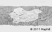 Gray Panoramic Map of Luodian