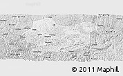 Silver Style Panoramic Map of Luodian
