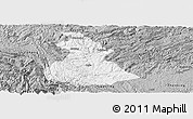 Gray Panoramic Map of Luzhi