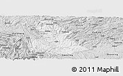 Silver Style Panoramic Map of Luzhi