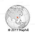 Outline Map of Majiang