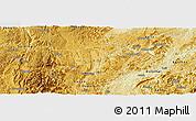 Physical Panoramic Map of Majiang