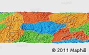 Political Panoramic Map of Majiang