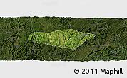 Satellite Panoramic Map of Majiang, darken