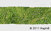 Satellite Panoramic Map of Majiang