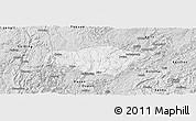 Silver Style Panoramic Map of Majiang