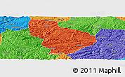 Political Panoramic Map of Nayong
