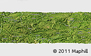 Satellite Panoramic Map of Nayong