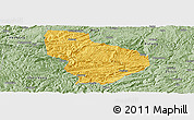 Savanna Style Panoramic Map of Nayong