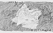 Gray Panoramic Map of Panxian