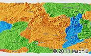 Political Panoramic Map of Panxian