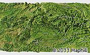 Satellite Panoramic Map of Panxian