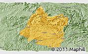 Savanna Style Panoramic Map of Panxian