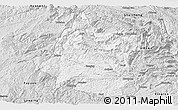 Silver Style Panoramic Map of Panxian