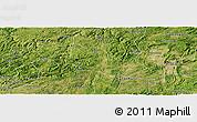 Satellite Panoramic Map of Pingba