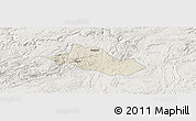Shaded Relief Panoramic Map of Pingba, lighten