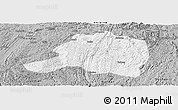 Gray Panoramic Map of Pingtang