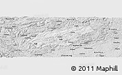 Silver Style Panoramic Map of Puding