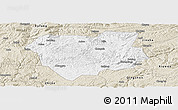 Classic Style Panoramic Map of Qianxi