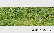 Satellite Panoramic Map of Qianxi