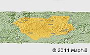 Savanna Style Panoramic Map of Qianxi
