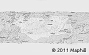 Silver Style Panoramic Map of Qianxi