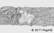 Gray Panoramic Map of Qinglong