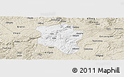 Classic Style Panoramic Map of Qingzhen