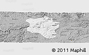 Gray Panoramic Map of Qingzhen