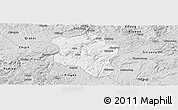 Silver Style Panoramic Map of Qingzhen