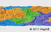 Political Panoramic Map of Renhuai