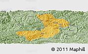 Savanna Style Panoramic Map of Renhuai