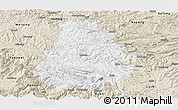 Classic Style Panoramic Map of Shuicheng