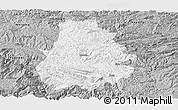 Gray Panoramic Map of Shuicheng