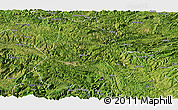 Satellite Panoramic Map of Shuicheng