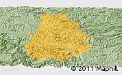 Savanna Style Panoramic Map of Shuicheng