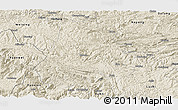 Shaded Relief Panoramic Map of Shuicheng
